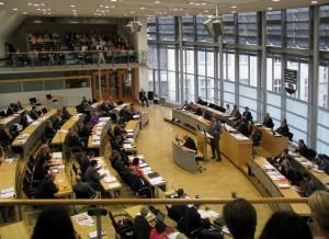 Landtag Sachsen-Anhalt Plenarsaal 1-09092010