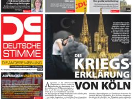Vorschau auf die Februar-Ausgabe der Deutschen Stimme: