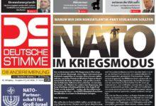 Die Deutsche Stimme im Juli 2016