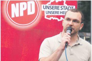 Sebastian Schmdtke, NPD-Spitzenkandidat in Berlin