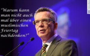 Deutschland braucht keine muslimischen Feiertage!