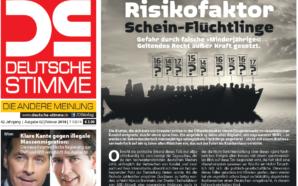 Falsche Minderjährige und Schein-Flüchtlinge: Die neue DEUTSCHE STIMME im Überblick